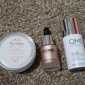 Iconi, QMS lip line corrector and setting powder